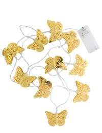 Golden Butterflies Light String