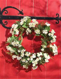 Wild Daisy & Fern Wreath