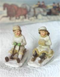 Sledder Figurines
