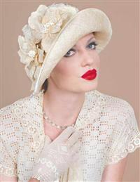 Louise Green Cream Tea Cloche
