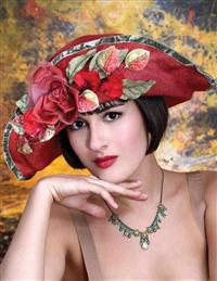 Louise Green Jasmine Hat