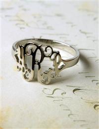 My Monogram Ring