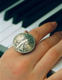 Walking Liberty Ring