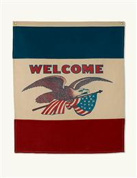 American Eagle Welcome Banner