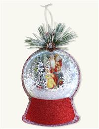 Christmas On The Moors Snowglobe Ornament