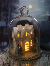 Enchanted Cottage Cloche