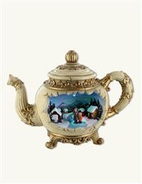Teapot Diorama Music Box
