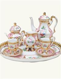 Marie Antoinette Miniature Tea Set