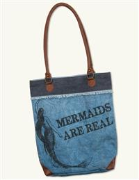 Mermaids Are Real Canvas Bag