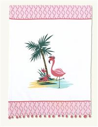 Pom Pom Kitchen Towel