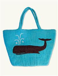 Moby Dick Felt Tote