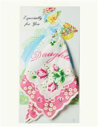 Daughter Hankie Card