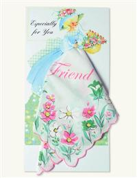 Friend Hankie Card