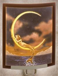 Mermaid Of The Moon Nightlight