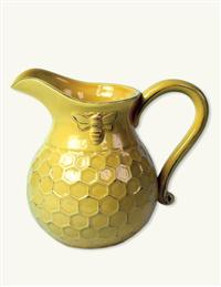 Sunny Honeycomb Pitcher