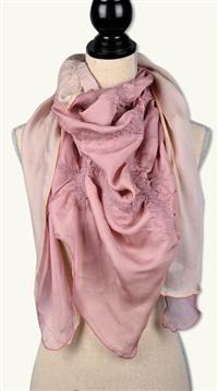 Prima Ballerina Layered Silk Wrap