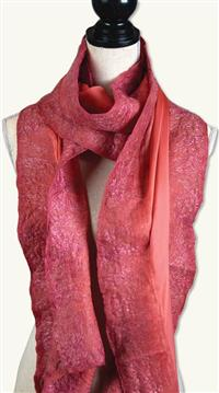 Coral Caress Scarf