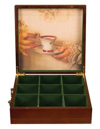 Tea Caddy Box