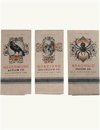 Macabre Tea Towels