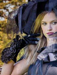 Black Rose Sorceress Gloves
