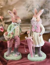 Mr. & Mrs. Cottontail