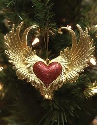 On The Wings Of Love Ornament