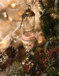 Message In A Bottle Ornament