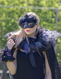 Ravishing Raven Mask