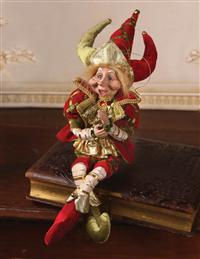 Chester The Jester Christmas Elf