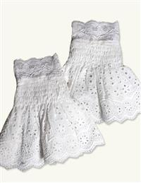 April Cornell Eyelet Lace Cuffs