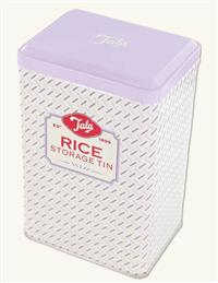 Retro Rice Storage Tin