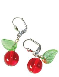 Bing Cherry Earrings