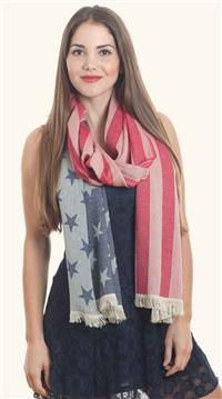 America The Beautiful Scarf
