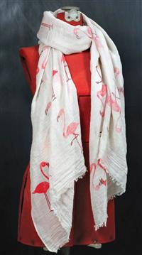 Flouncing Flamingo Scarf
