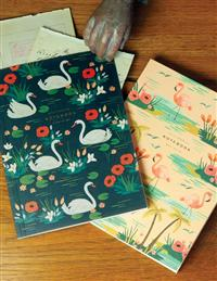 Rifle Paper Co Birds Of A Feather Notebook Set