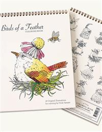 Birds Of A Feather Coloring Book