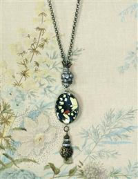 """Rothschild"" Butterfly Pendant Necklace"