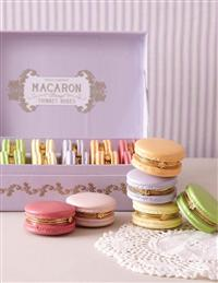 Macaroon Trinket Boxes (Set Of 12)