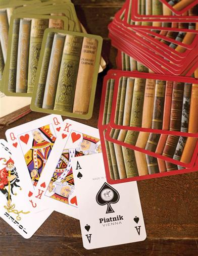 A Good Read Playing Cards