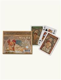 Mucha Art Nouveau Playing Cards