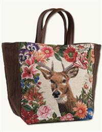 Flora And Fauna Tapestry Tote