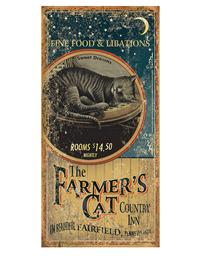 Farmer's Cat Country Inn Sign