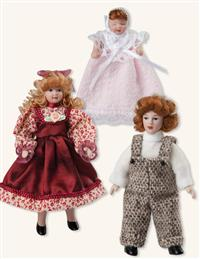 Dollhouse Children (Set Of 3)