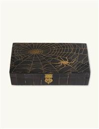 Scrimshaw Spiderweb Box