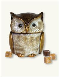 Hoot Owl Candy Jar