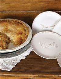 Pie Wishes Dessert Plates