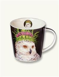 Flora And Fauna Mug (Snowy Owl)