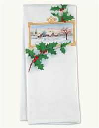 Home For The Holidays Flour Sack Towel