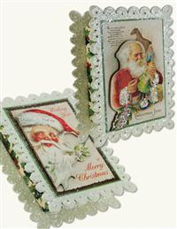 Santa's Workshop Gift Boxes (Pair)