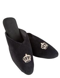Queenie Velvet Slippers